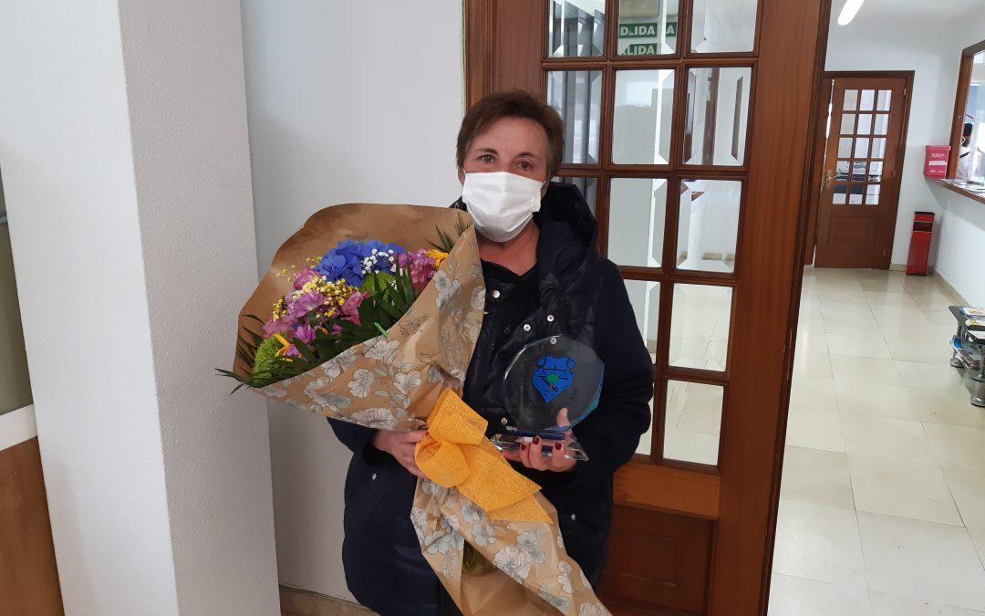 A animadora sociocultural do Concello de Agolada, Inma Galego, xubílase tras case 28 anos