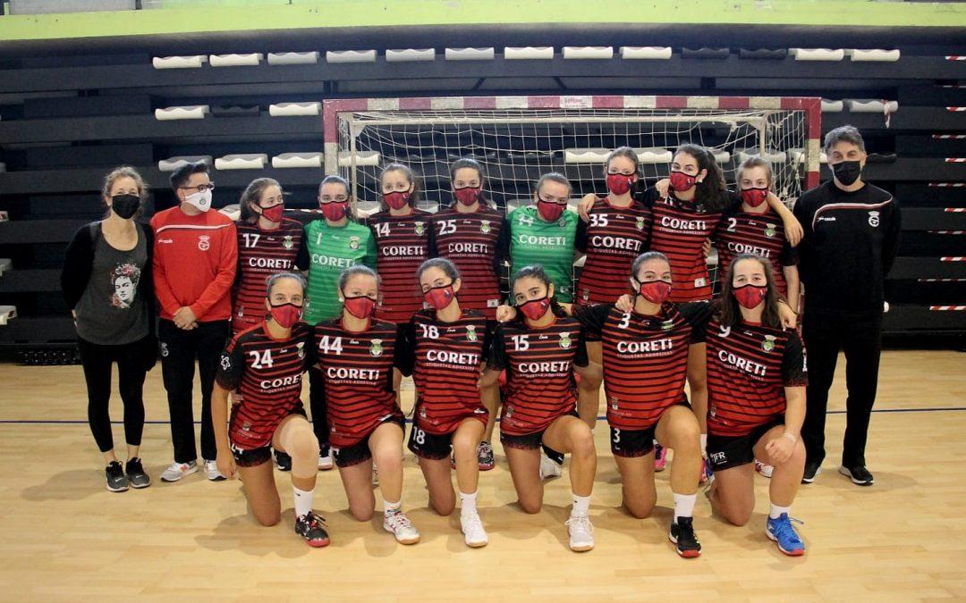 Ascenso á Liga Ouro para os equipos cadetes do Balonmán Lalín