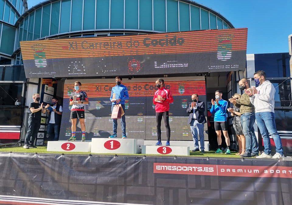 José Canda e Laura Pérez, campións da XI Carreira do Cocido