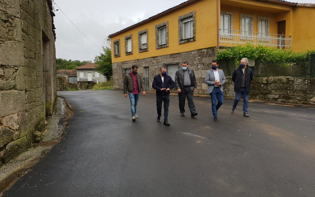 A Xunta investiu 36 mil euros na mellora viaria de Vistuíde, no concello de Rodeiro