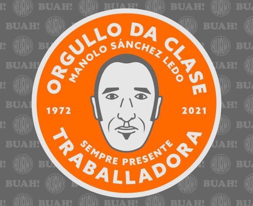 """""""Pegatas"""" na honra a Manolito, o orgullo da clase traballadora"""