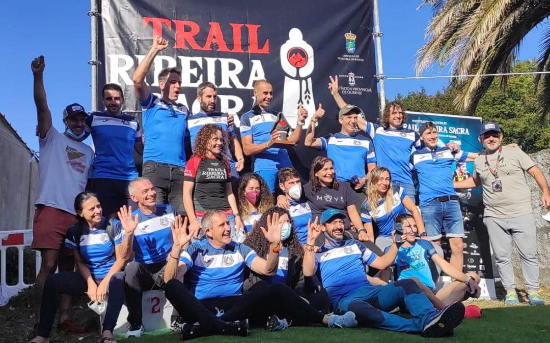 O GTR logra o premio ao equipo máis numeroso no Trail Ribeira Sacra